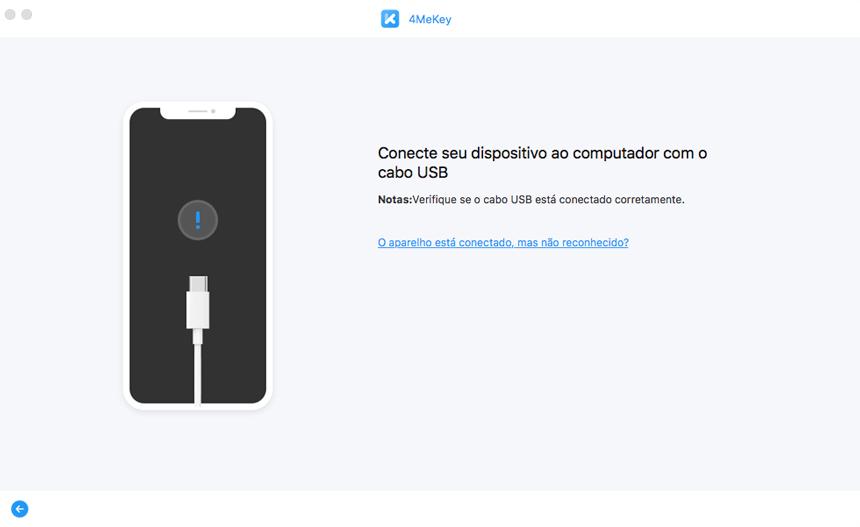 remover bloqueio de ativação iphone etapa 2