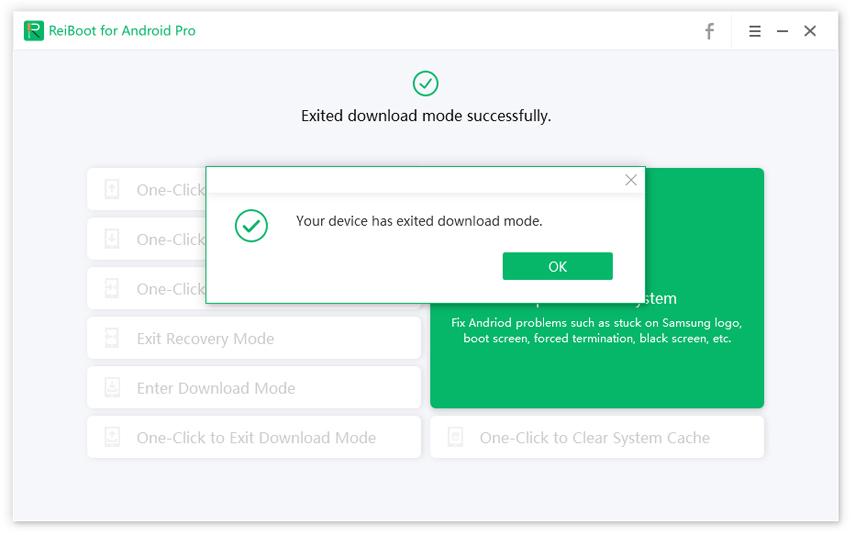 sair do modo download android com sucesso