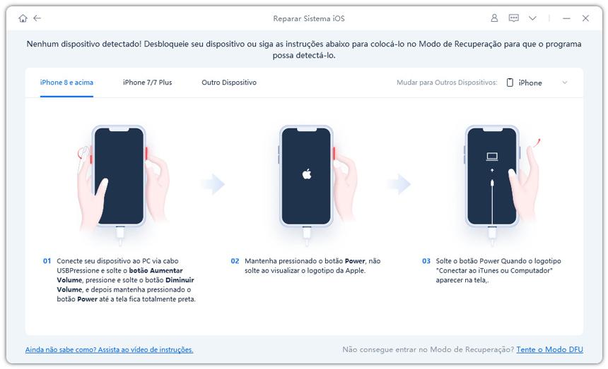 guia de restaurar iphone com reiboot etapa 2