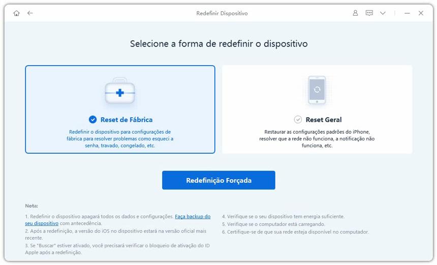 guia de redefinir iphone com reiboot etapa 2